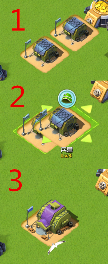 Top War battle game | How to upgrade the building? Top war battle guide